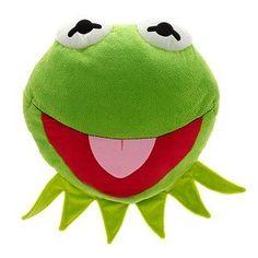 Disney Muppets Kermit the Frog Face Cushion Pillow Plush Disney http://www.amazon.com/dp/B00BHLF4TS/?tag=jzmcgpinteboa-20