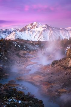 Pink Morning in the Eastern Sierra by DrNub. Please Like http://fb.me/go4photos and Follow @go4fotos Thank You. :-)