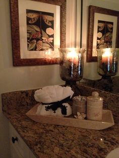Bathroom Items - especially nice for guests