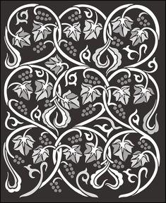 Click to see the actual CE42 - Panel No 4 stencil design.
