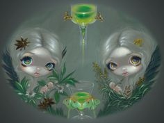Absinthe:  Anise and Artemisia - Jasmine Becket-Griffith