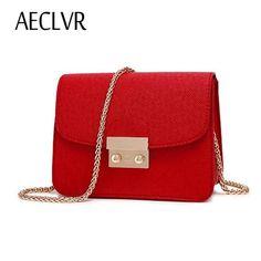 AECLVR Small Women Bags PU leather Messenger Bag Clutch Bags Designer Mini  Shoulder Bag Women Handbag 07d69df371f3