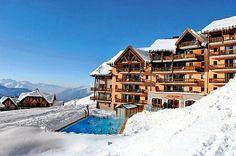 Pourquoi se priverait-on de partir à Valmeinier? #ski #Savoie
