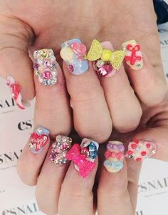 Katy Perrys Halftime Show Inspired Nail Art