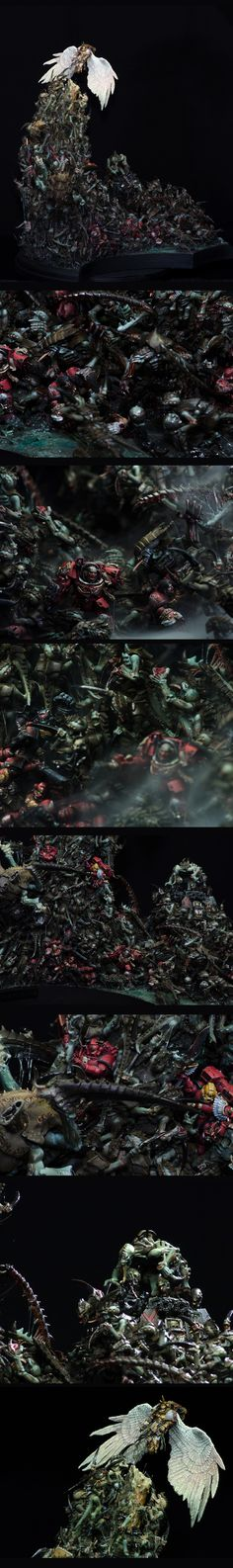 """The Last Light"" - Tyranid Swarm versus the Blood Angels"