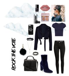"""""""It's cold outside"""" by marizoy on Polyvore featuring WearAll, TIBI, Steve Madden, Lime Crime, Rodial, EF Collection and Dsquared2"""
