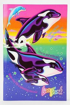 I forgot that I even had this folder until just now! | 23 Reasons Why Lisa Frank Was AGenius