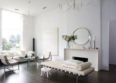 white minimalist interior design