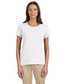 DP182W Devon & Jones Ladies' Perfect Fit™ Shell T-Shirt