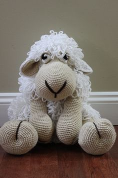 Crocheted Sheep. Really want to try this!!