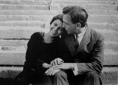 Elisabeth and Andre Kertesz, Budapest, 1921 Andre Kertesz, Budapest, History Of Photography, Street Photography, Three Dog Night, Brassai, The Magnificent Seven, Adam And Eve, Photo Essay