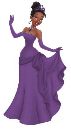 Disney- mes tubes - passionimages Princess Tiana Dress, Princes Dress, Black Couple Art, Black Girl Art, Black Art, Princesa Tiana, Walt Disney Princesses, Disney Princess Tiana, Black Disney Princess