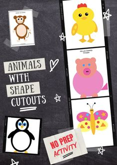 Shapes of different Colours- Little kids love to collect and play with different . So here's some free downloadable printables which our kids would love to do. A 2D shapes math center. Best activity for homeschool, preschool curriculum n projects. For more activities on Shape Crafts, you can click on the pin to visit my website. Create #animals, #vehicles #shape #crafts #diy #printables #math #vehicles #project