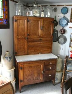 Best Antique Wilson Hoosier Cabinet Craigslist For 475 In 400 x 300