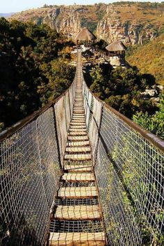 South Africa Travel Inspiration - Walk the Swing Bridge at Oribi Gorge, South Africa. Places Around The World, Oh The Places You'll Go, Places To Travel, Places To Visit, Les Seychelles, Le Cap, Nairobi, Future Travel, Africa Travel