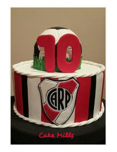 Ideas Para Fiestas, Cakes And More, Football Cakes, Plates, Candy, Kids, Flower, Meat Lasagna, Fondant Cakes