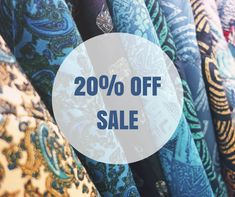 For great fabric online come to Juberry Off Sale, 20 Off, All Craft, Dressmaking, Celebration, Workshop, Arm, Coding, News