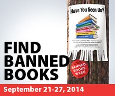 Read Banned Books.  Because sometimes it's good to read things that piss you off and offend you