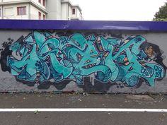 ran.... #graff #graffiti #94 #hardcore #paint #art #artist #white #black #grey #blue #artwork #2015 #milano #fuck
