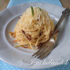 Ízes kalandok: Spagetti carbonara