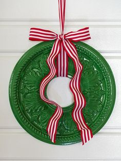 An Artistic Holiday Approach - Creative Holiday Decorations for Your Front Door on HGTV