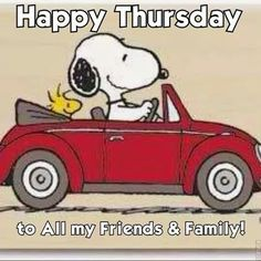 happy thursday snoopy | Happy Thursday
