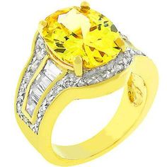 Sunny Cocktail Ring