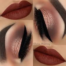 36 Best Maroon Matte Lipstick Shades to Look Stunningly Beau.- 36 Best Maroon Matte Lipstick Shades to Look Stunningly Beautiful Beautiful Makeup Ideas with Maroon Lips picture 3 - Cute Makeup, Gorgeous Makeup, Pretty Makeup, Bold Makeup Looks, Holiday Makeup Looks, Sleek Makeup, Winter Makeup, Makeup Trends, Makeup Inspo