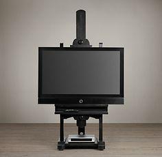 TV Easels   Restoration Hardware