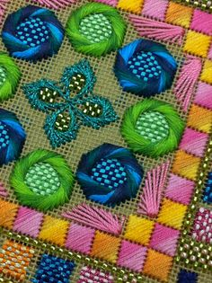 It's not your Grandmother's Needlepoint -- You bet your bippy it isn't!! It's gorgeous!...Shirley