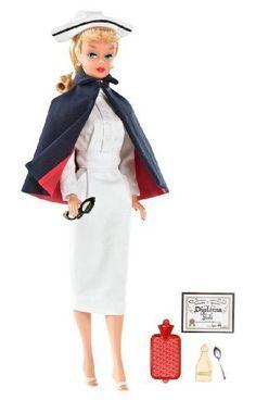 &&  Barbie My Favorite Career Vintage Registered Nurse Barbie Doll by Mattel