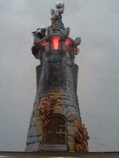 Turret with flames, for Empire in Ruin