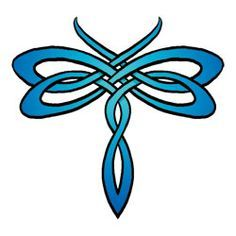 celtic dragonfly designs - Google Search