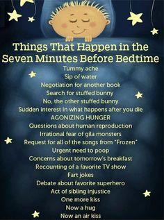 Bedtime negotiations....sooo funny!