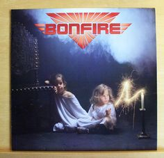 BONFIRE Don t touch the Light Vinyl LP You make me feel SDI Starin  Eyes TOP RAR