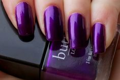 True Winter: Slick shine is important. Don't let your polish get dull over time with wear. Blue or blue violet iridescence can give your darker colors dimension and interest. Too much bling doesn't suit your elegant simplicity.