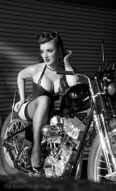 Excellent riding gear. The Rebel PIN-UP Page: GIRL OF THE WEEK: August 1st - 11th