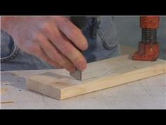 Woodworking : How to Chip Carve