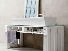 Badkamermeubel zelf maken