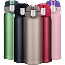 <15%-75% off. Click image to buy>High Quality Double Wall Stainless Steel Vacuum Flasks 500ml Car Thermos Cup Coffee Tea Milk Travel Mug Thermol Bottle Thermocup ~  #KitchenDiningnBar