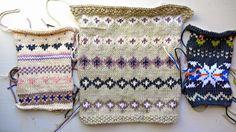 Porcupine Design: More fair isle knitting...