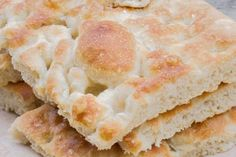 Fügassa ligure semplificata - Ricetta di Fidelity Cucina Vanilla Cake, Desserts, Pane, Food, Tailgate Desserts, Deserts, Essen, Postres, Meals