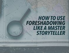 Foreshadowing is a fantastic tool for raising the intrigue in your story, but it can be tricky to execute. Here are two strategies for how to use foreshadowing in any story. Writing Programs, Writing Advice, Blog Writing, Writing A Book, Writing Prompts, Writing Guide, Writing Ideas, Literary Elements, Creative Writing Tips