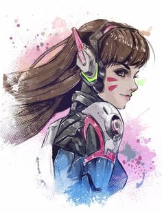 05b76dfa06 D.Va by Vincent Vernacatola uploaded by Daniel Solorio