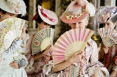 Princess fans Themes like a Marie Antoinette tea party call for details like paper fans! Find them for sale at splendorforyourguests.com Splendor for Your Guests | Rental Company | Weddings | Events | Shawls | Blankets | Umbrellas | Parasols | Fans