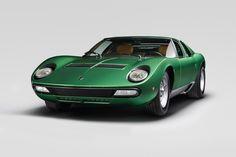 ギャラリー :1971 Lamborghini Miura SV Polo Storico Restoration
