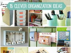 15 Clever Organizati