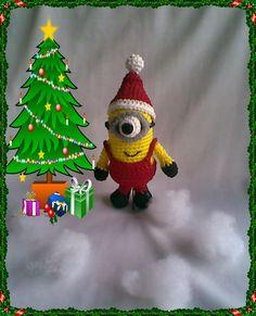 Christmas Minion ~ Zan Crochet