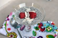 Coconut Chia Pudding: A Yummy & Healthy Dessert. Our newest obsession!