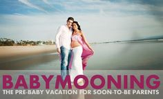 "A relatively new term, babymoons are pre-baby vacations for expectant couples, taken with the purpose of giving the parents-to-be some relaxing, quality time together before two becomes three (or more).  If you're planning a babymoon, or you simply have travel plans that coincide with your growing belly, it's wise to do a little ""traveling while pregnant"" research beforehand. Today we're sharing some babymooning/pregnant travel tips at www.pregnancycorner.com/blog/babymooning.html"